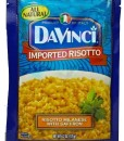 davinci risotto milanese with saffron
